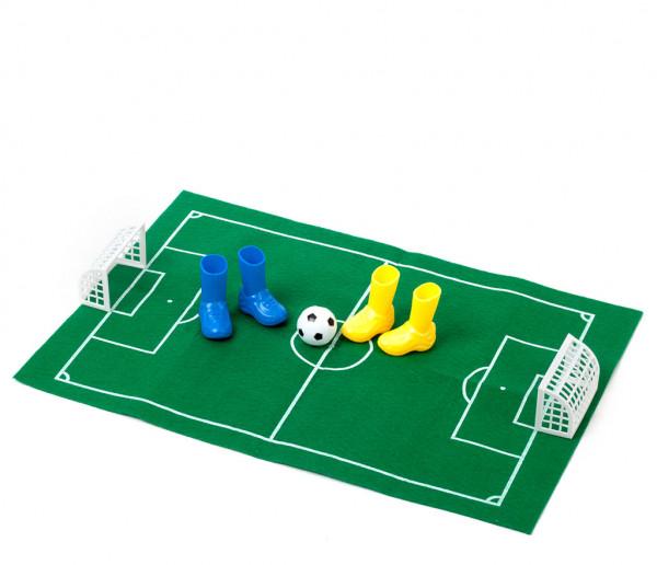 Fingerfußball-Set mit Spielfeld