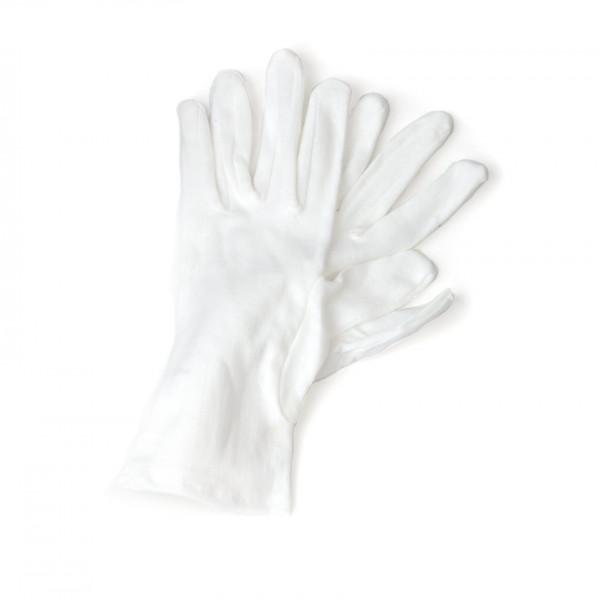 Handschuhe - Baumwolle kurz weiss