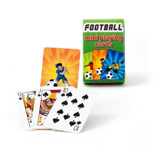 Mini Kartenspiel Fußball