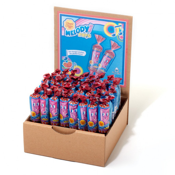 Display Chupa Chups Melody Pops