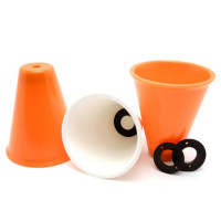 Juggling Cups Jonglierbecher orange