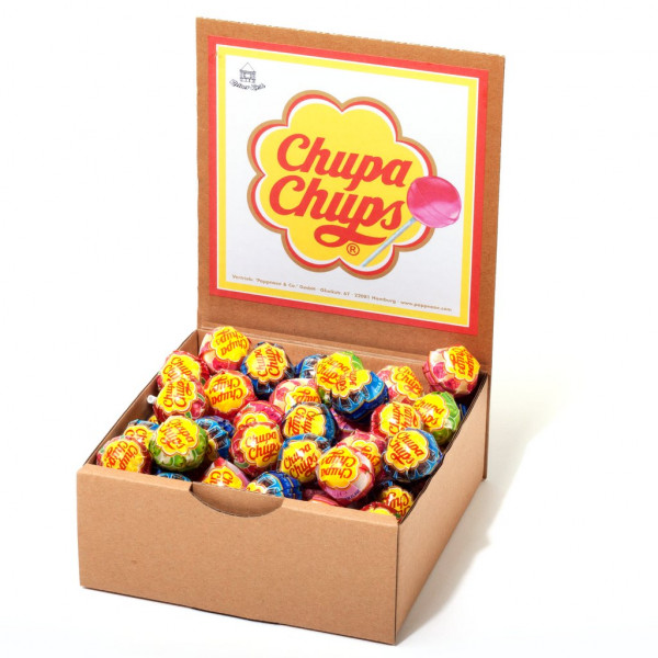 Display Chupa Chups Lutscher