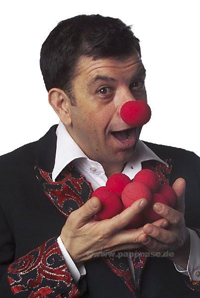 Clown-Nase -Schaumstoff