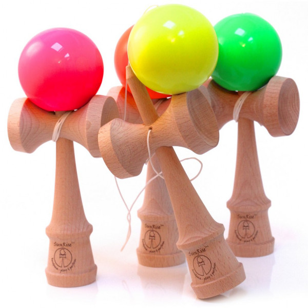 Kendama Competition Neon