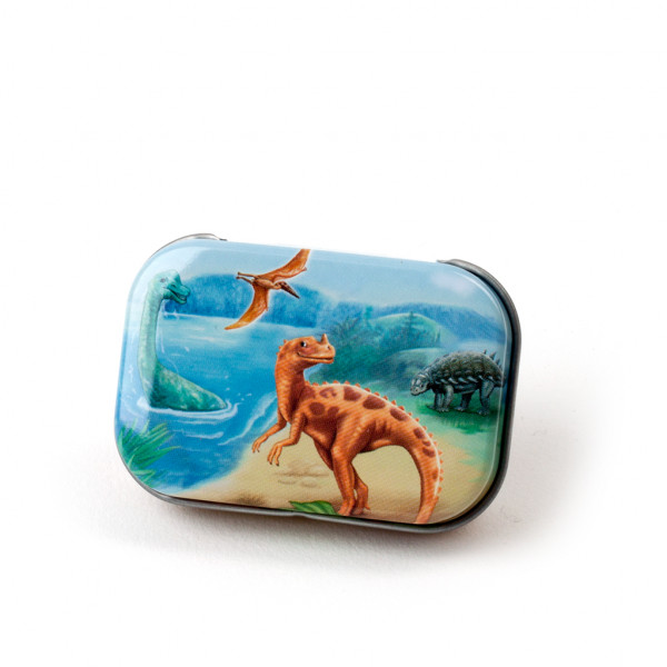 Mini-Dose Dinosaurier