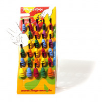 Fingermax Aufsteller mit 30 Pinseln