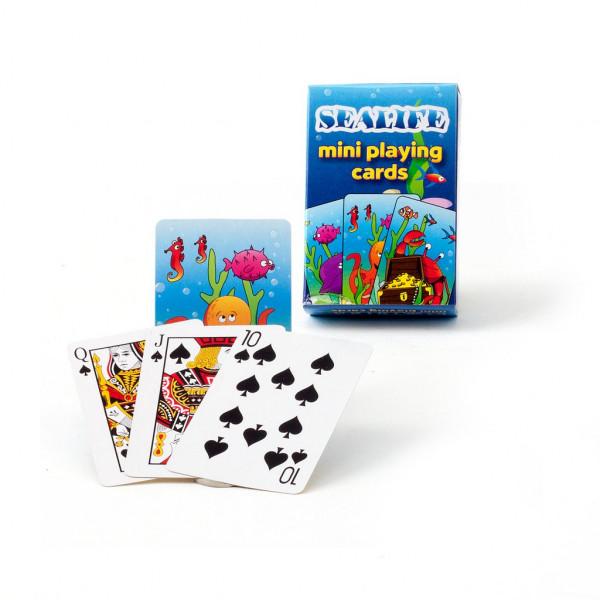Mini Kartenspiel Seetiere